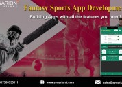 Develop fantasy sports app with all the features