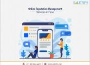 Online brand reputation management services  -