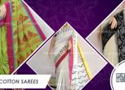 Buy khadi cotton saree online