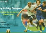 Creating a  fantasy sports app development
