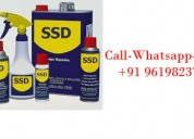 Ssd chemical for black money and ssd solution