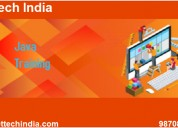 Java course from nettech india with 100% placement
