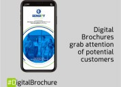 Digital brochure a better approach for presenting