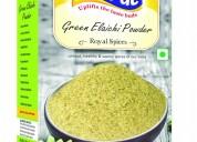 Chuk de spices hari elaichi powder 50gm