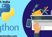 Best job oriented python course from nettech india