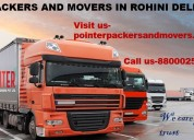 Packers and movers in rohini delhi