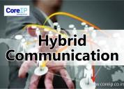 Service provider of hybrid communication in noida
