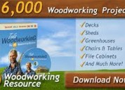 Make 16,000 projects with step by step plans (wood