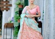 Get silk lehenga choli from mirraw at best prices