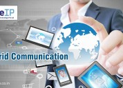 Hybrid communication server provider in noida