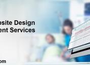 Healthcare website design and development company