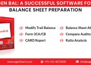 Gen bal: best balance sheet preparation software