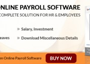 Gen online payroll software for hr management tool