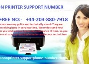 Canon printer support number +44 203 880 7918