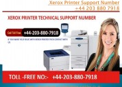 Xerox printer support number +44 203 880 7918