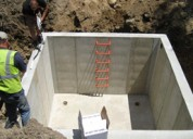 Under ground and overhead tank waterproofing
