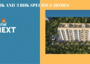 Pristine pronext  2 bhk and 3 bhk specious home