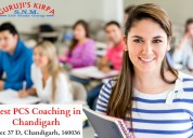 Has coaching institute in chandigarh