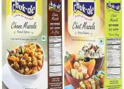 Chukde chat masala and chana masala 100gm (pack 2)