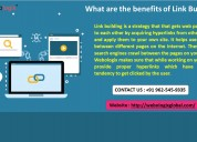 What are the benefits of link building?