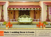 Mark1 wedding decors