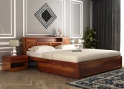 buy double bed online in mumbai from wooden street