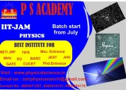 Ph.d preparations from p s academy in ranchi