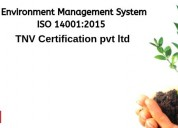 Iso 14001:2015 certification in india