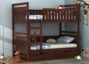 buy wooden kids bed in hyderabad - wooden street