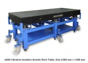 Vibration isolated work table (viwt) - jash metrol