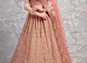 Get georgette lehenga from mirraw at best prices