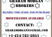 Monetization direct provider bg/sblc