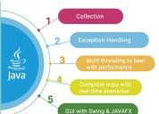 6 months java training center in noida | free demo