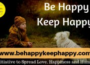 Be happy keep happy – an initiative to spread love