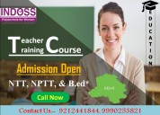 Teacher training course in delhi admission open