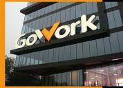 Shared office in gurugram-gowork india