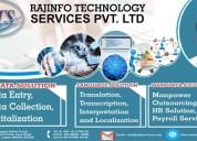 Manpower transcription outsourcing services