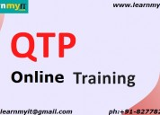 Qtp online training- learnmyit.com