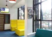 Fully functional office spaces for rent