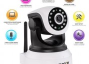 360 auto-rotating wireless cctv camera.
