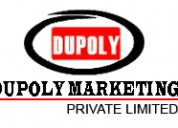 Dupoly marketing pvt  - pump dealer in ahmedabad