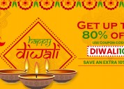 Diwali dhamaka offer & discount up to 80%
