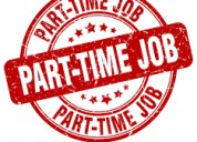Part  time jobs work from office call now.