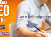 Job opening for seo internship in pune freshers join now