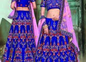 Get online ethnic lehengas from mirraw