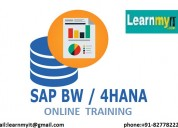 Sap bw on hana online training- learnmyit.com