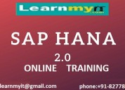 Sap hana 2.0 online training- learnmyit.com