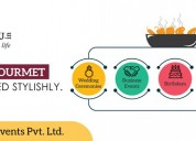 Best outdoor wedding catering services in delhi -