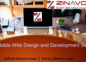 Affordable website design and development services