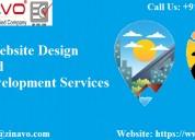 Travel website design and development services